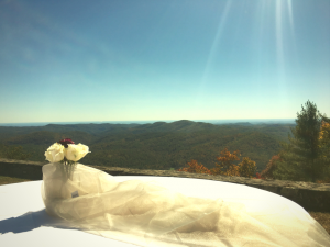 Wedding in Highlands, North Carolina
